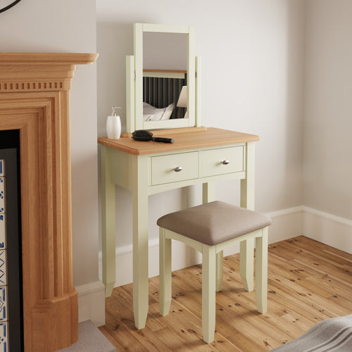 Painted White Dressing table