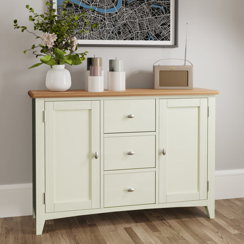 Painted White Large Sideboard