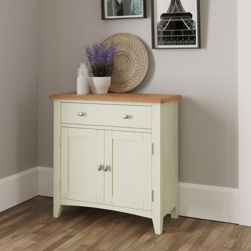 Painted White Small Sideboard