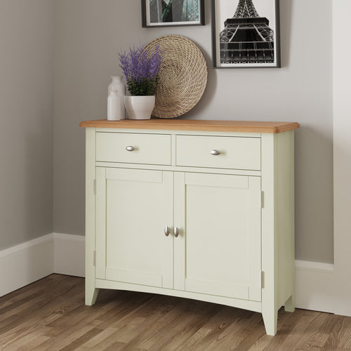 Painted White Sideboard