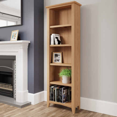 Light Oak Large Bookcase