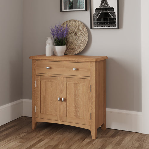 Light Oak Small Sideboard