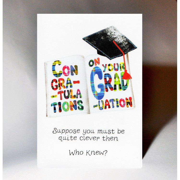 Graduation Book Card