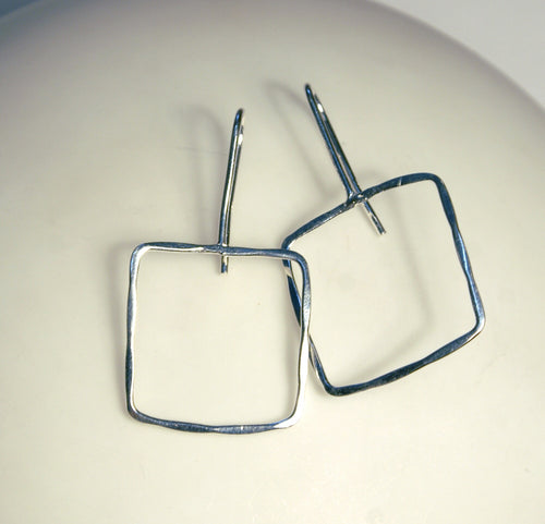 Square Outline Earrings