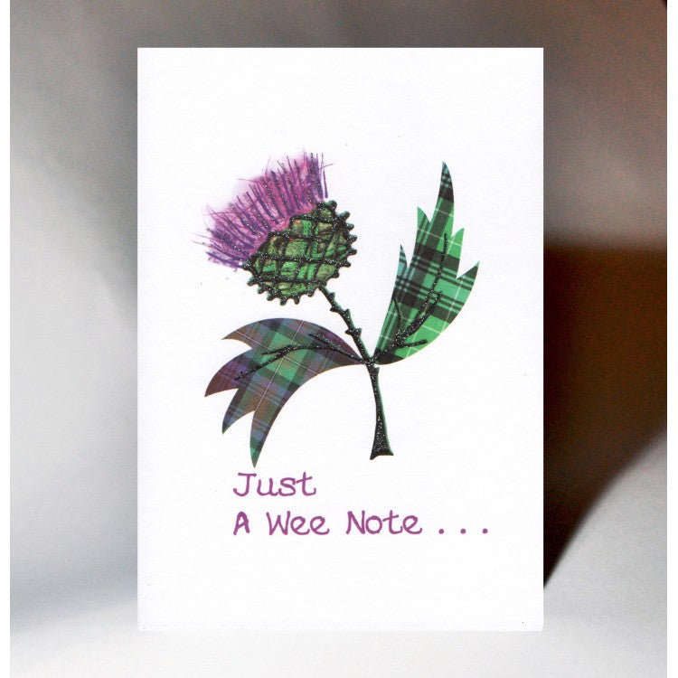 Large Thistle Card
