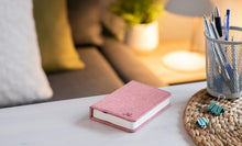 Load image into Gallery viewer, Pink Fabric Mini Book Light