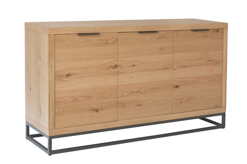 Industrial 3 Door Sideboard