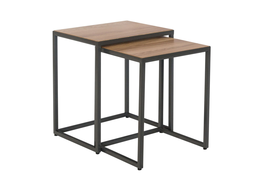 Industrial Nest of 2 Tables