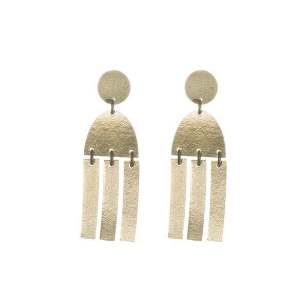 Fringe Statement Studs