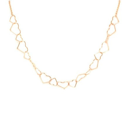 Venus Hearts Necklace Gold