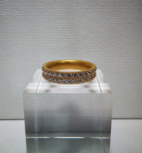 Gold Double Glow Ring