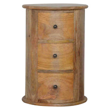 Load image into Gallery viewer, Country Style Slim Drum Chest - 3 Drawer