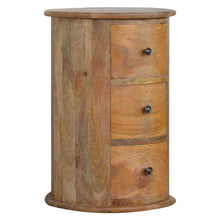 Load image into Gallery viewer, 3 Drawer Slim Drum Chest