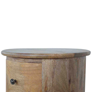 Country Style Slim Drum Chest - 3 Drawer