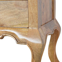 Load image into Gallery viewer, French Design Cabriole Leg 2 Drawer Bedside