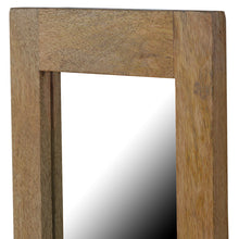 Load image into Gallery viewer, Rectangular Framed Wooden Wall Mirror