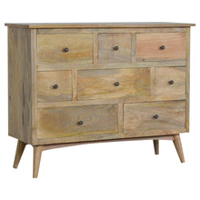 Load image into Gallery viewer, Nordic Style 8 Drawer Chest of Drawers