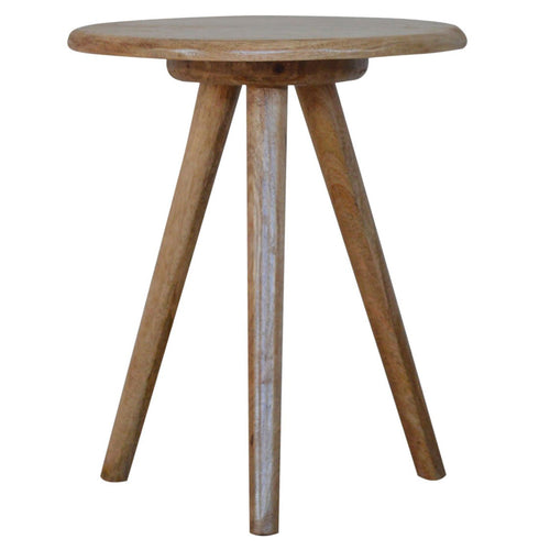 Nordic Round Tripod Table