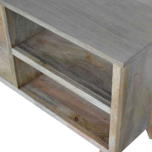 Nordic Style Media Unit with 3 Drawers and 2 Shelves