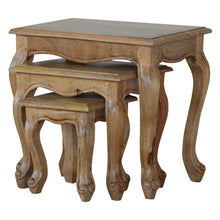 Load image into Gallery viewer, French Style Nesting Tables - Set of 3