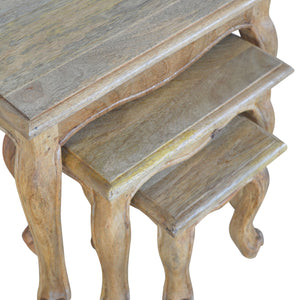 French Style Nesting Tables - Set of 3