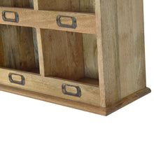 Load image into Gallery viewer, Solid Wood Wall Mounted Storage Unit