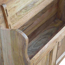 Load image into Gallery viewer, Solid Wood Large Monks Storage Bench