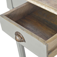 Load image into Gallery viewer, 1 Drawer Writing Desk with Flute Legs