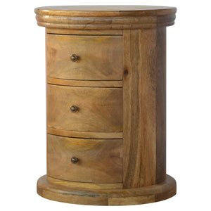 Country Style Petite Slim Drawer Chest with 3 Drawers
