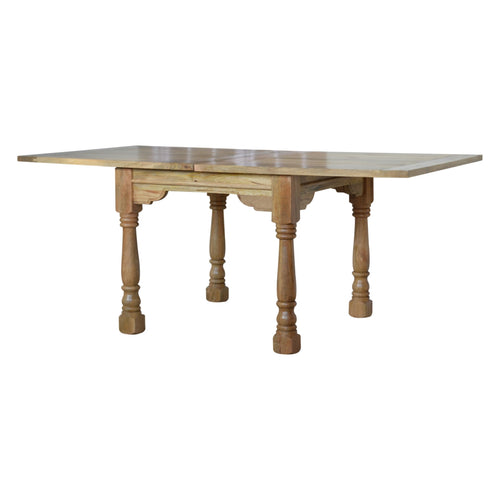 Turned Leg Butterfly Dining Table