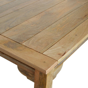 Turned Leg Extension Dining Table