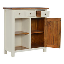 Load image into Gallery viewer, 2 Toned Kitchen Unit with 3 Drawer, 2 Open Shelves