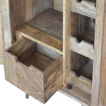 Load image into Gallery viewer, Solid Wood Wine Utility Storage Cabinet