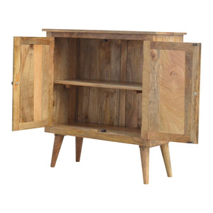 Nordic Style Cabinet - 2 Shelves