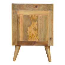 Load image into Gallery viewer, Green Nordic Bedside Table - 3 Drawers