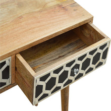 Load image into Gallery viewer, Bone Inlay Console - 2 Drawers
