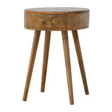 Load image into Gallery viewer, Nordic Style Circular Bedside Table