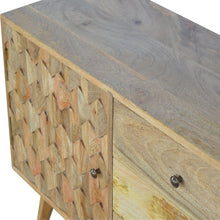 Load image into Gallery viewer, Pineapple Carved Cabinet with - 2 Shelves & 3 Drawers