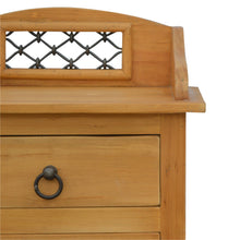 Load image into Gallery viewer, Iron Jali Tallboy Chest