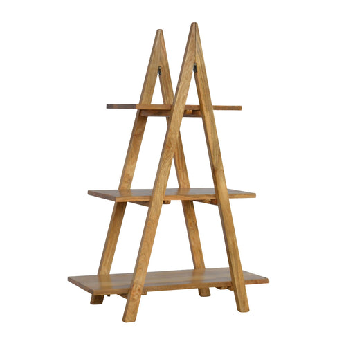 Ladder Style Open Display Unit with 3 Shelves