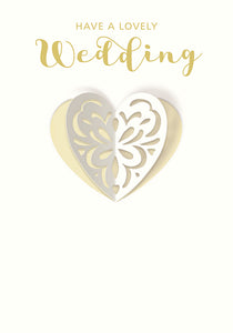 """Have a Lovely Wedding"" Card"