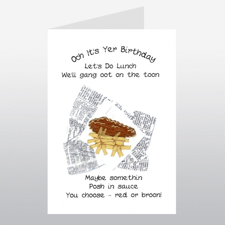 Fish N Chips Card