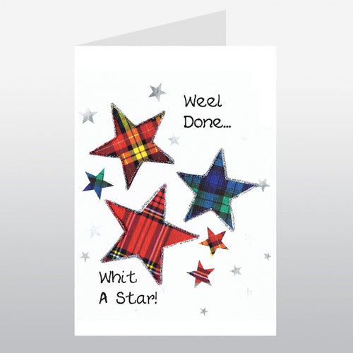 Weel Done Congrats Card