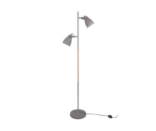 Iron Grey Mingle Floor Lamp