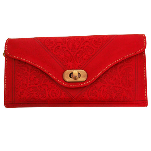 Red Decorative Purse