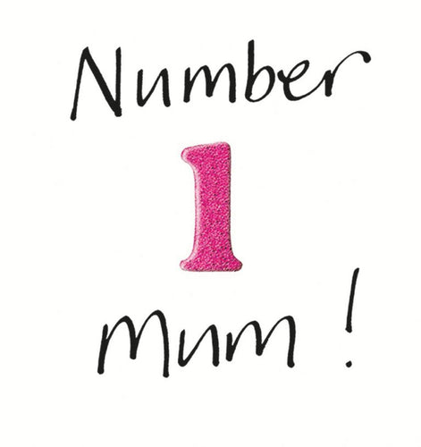 Number 1 Mum Card
