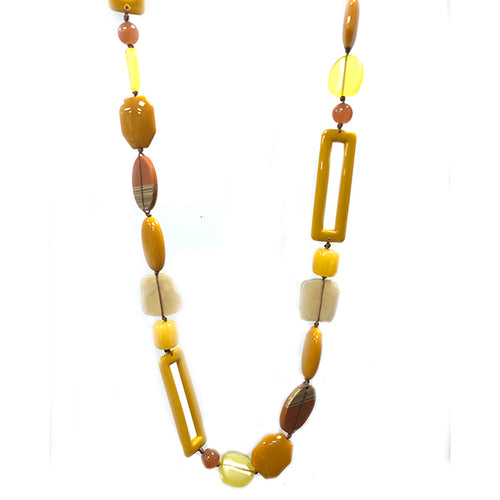 Mustard Hedera Necklace