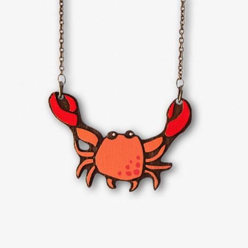 Mr Crab Necklace