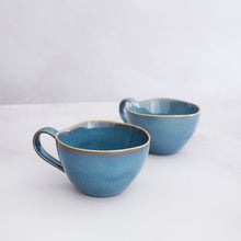 Load image into Gallery viewer, Blue Stoneware Mug