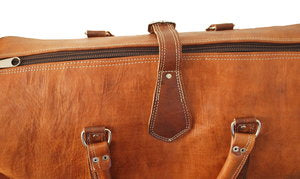 Tan Rabat Weekend Bag